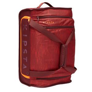 Sporttasche Trolley Essential 30 Liter bordeaux