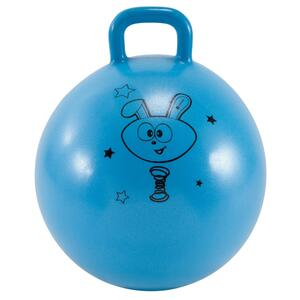 Hüpfball Resist 45 cm Gym Kinder blau