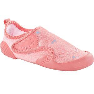 Turnschuhe 580 Babylight Print rosa