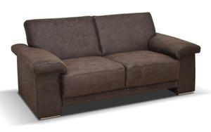 hardi - Sofa Arizona 2-Sitzer in dunkelbraun