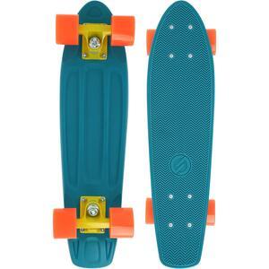 Cruiser Skateboard Yamba 100 blau/koralle