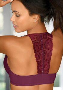 LASCANA T-Shirt-BH (1-tlg) mit dekativem Nietenbesatz am Rücken
