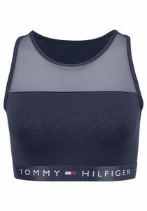 TOMMY HILFIGER Bustier (1-tlg) mit leicht transparentem Mesheinsatz