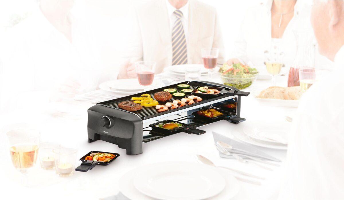 Bild 4 von PRINCESS Raclette 8 Grill & Teppanyaki Party - 162840, 8 Raclettepfännchen, 1300 W