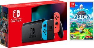 Nintendo Switch (neues Modell), inkl. The Legend of Zelda: Link's Awakening