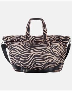 Hallhuber Shopper mit Zebraprint für Damen Gr. One Size in multicolor