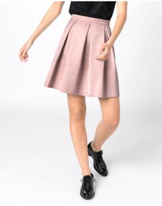 Hallhuber Taillenrock aus Satin für Damen in puder