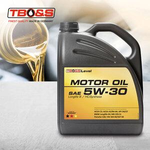 SAE 5W30 Longlife III / HC-Synthese Motor Öl, 5 Liter, Einsatz gemäß Spezifikation