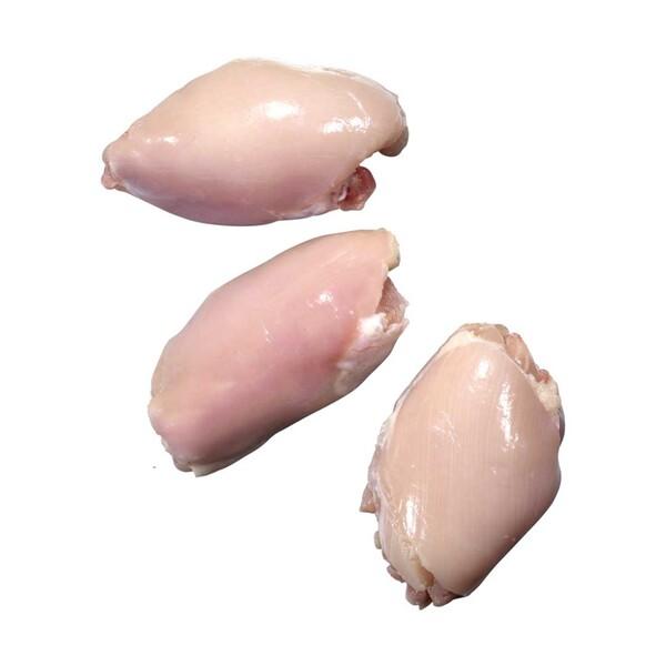 Frische Hähnchen-Oberkeulen ohne Haut und Knochen,  je 1 kg