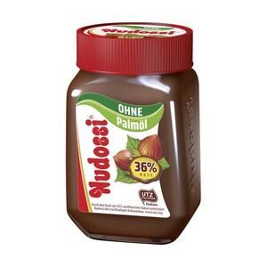 Nudossi Nuss-Nougat-Creme ohne Palmöl jedes 300-g-Glas