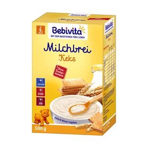 Bebivita Milchbrei versch. Sorten,  jede 500-/600-g-Packung