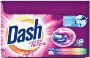 Dash Waschmittelgel oder Caps