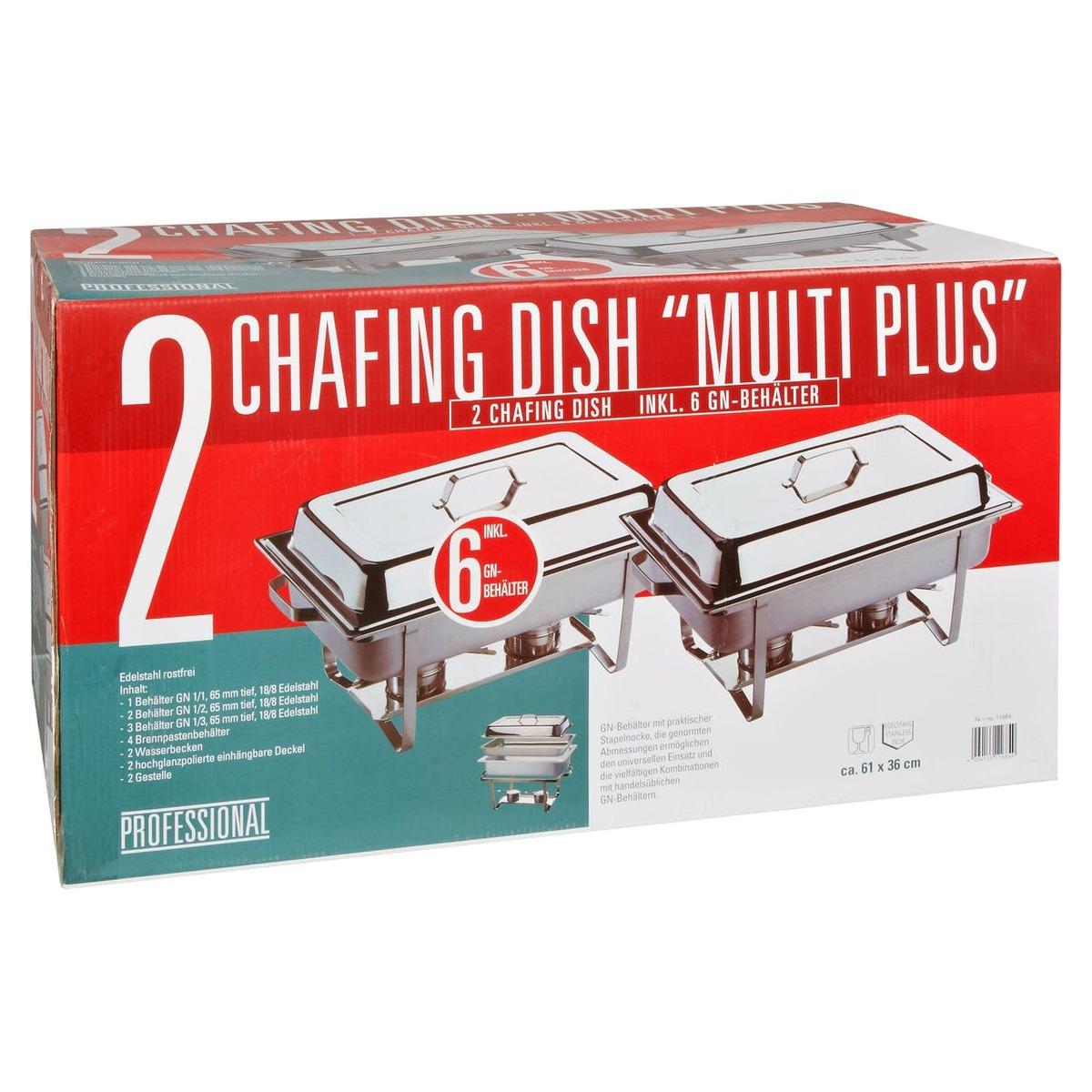 Bild 1 von APS Chafing Dish Set 65 mm Tief - 1 Geschenkpackung