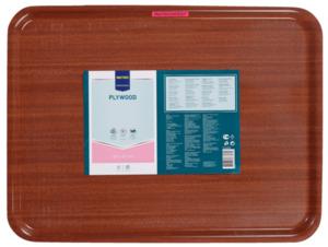 METRO Professional Kellnertablett rutschfest, 60 x 45 cm, braun