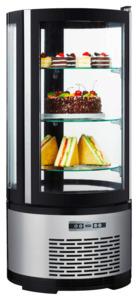 METRO Professional Kuchen-Vitrine GRV1100, 100 l, rund