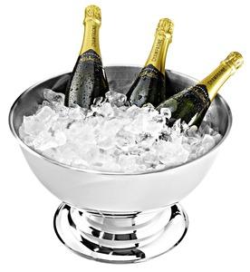 Champagner Bowl Edelstahl 14/1 Ø 40 cm