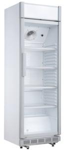 Glastürkühlschrank HSC 2350 Weiß