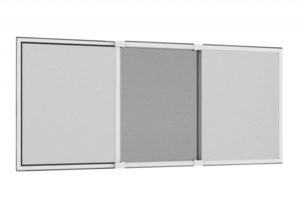 Alu-Schiebefenster Comfy Slide XL, 75x100cm