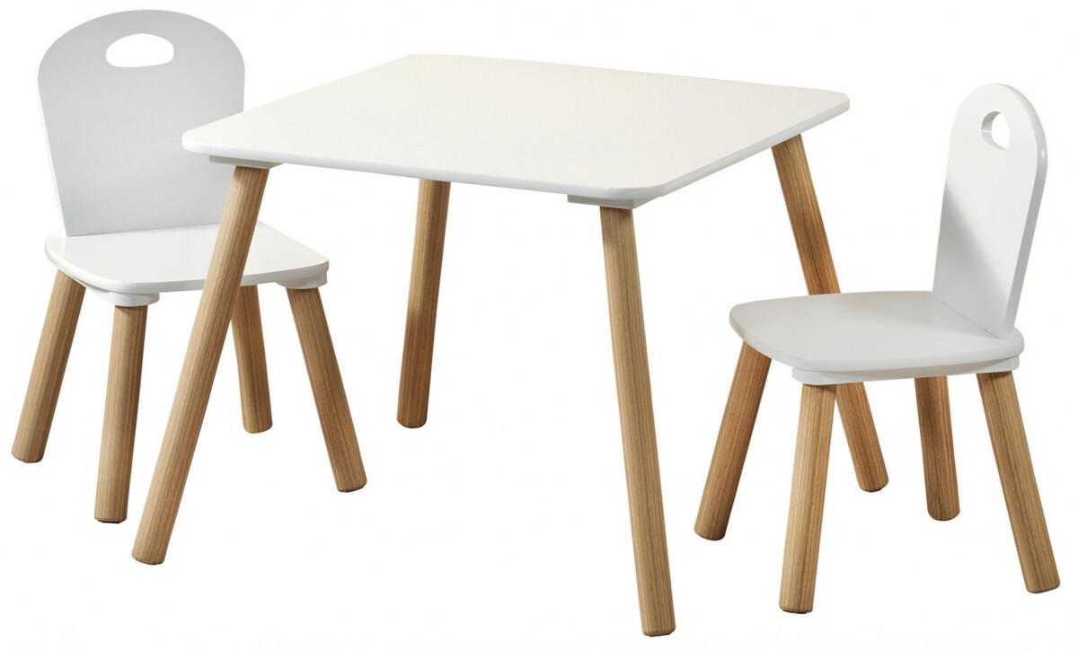 Bild 1 von Kesper Kindertisch mit 2 Stühlen, weiß