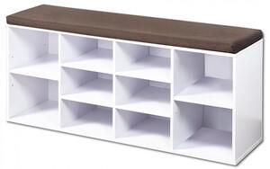 Kesper Schuhschrank mit Sitzkissen 103x48