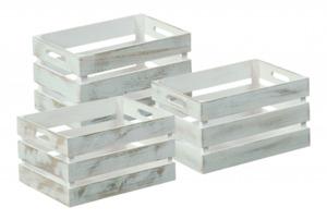 Kesper Aufbewahrungsboxen Antik, weiß