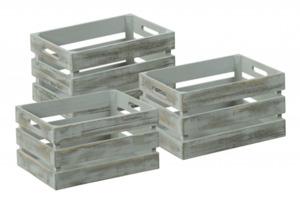 Kesper Aufbewahrungsboxen Antik, grau