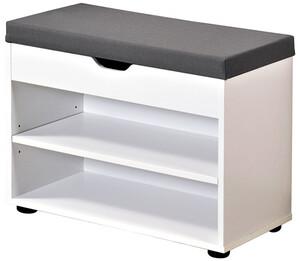 Kesper Schuhschrank mit Sitzkissen 60x47