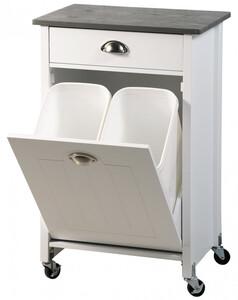 Kesper Küchenwagen inkl. Abfalleimer