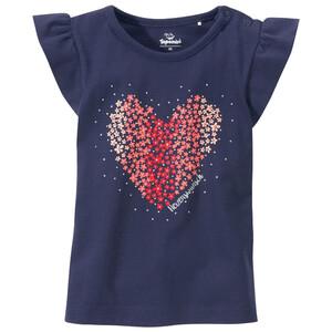 Baby T-Shirt mit Herz-Print