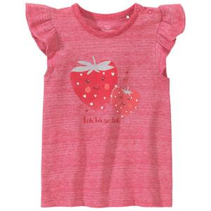 Baby T-Shirt mit Erdbeer-Motiv