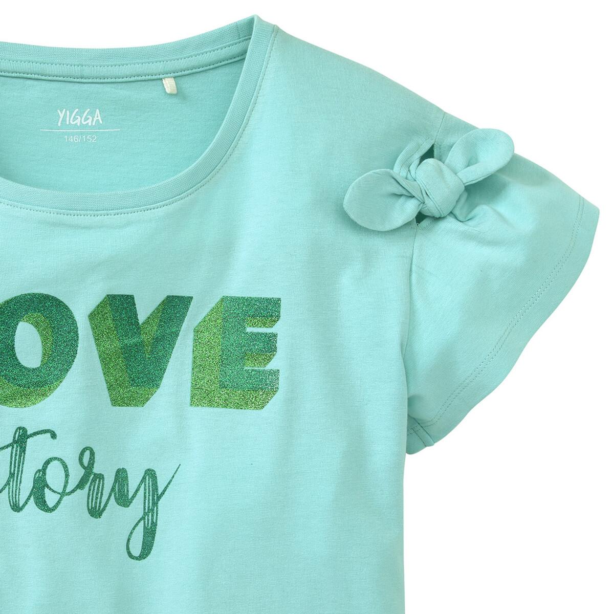 Bild 2 von Mädchen T-Shirt mit Glitzer-Print