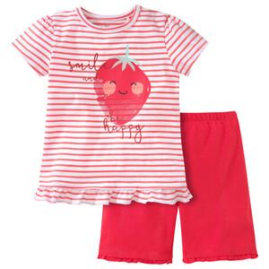 Baby Shorty mit Erdbeer-Motiv
