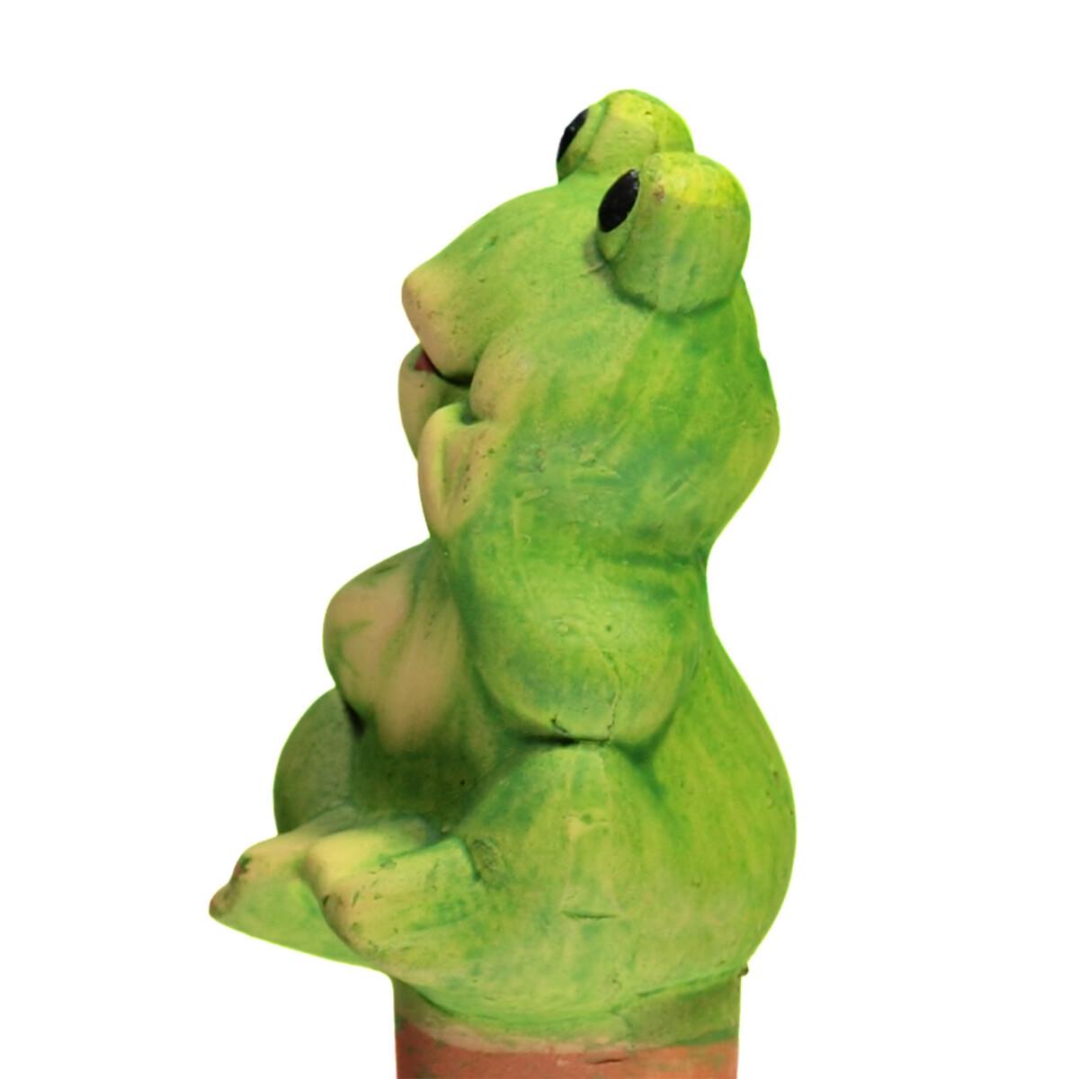 Bild 3 von Frosch aus Keramik, 10 cm hoch