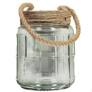 Windlicht Glas 27cm