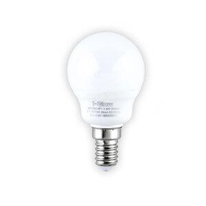 I-Glow LED-Leuchtmittel, Mini Globe, 8 W, E14, Warmweiß