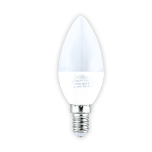 I-Glow LED-Leuchtmittel, Kerze, 8 W, E14, Warmweiß