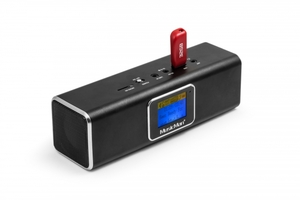 Musicman DAB+/ Bluetooth-Soundstation BT-X29 - Schwarz