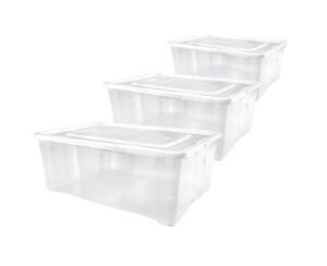 Alpfa Klarsichtboxen 5 Liter - 3er-Set
