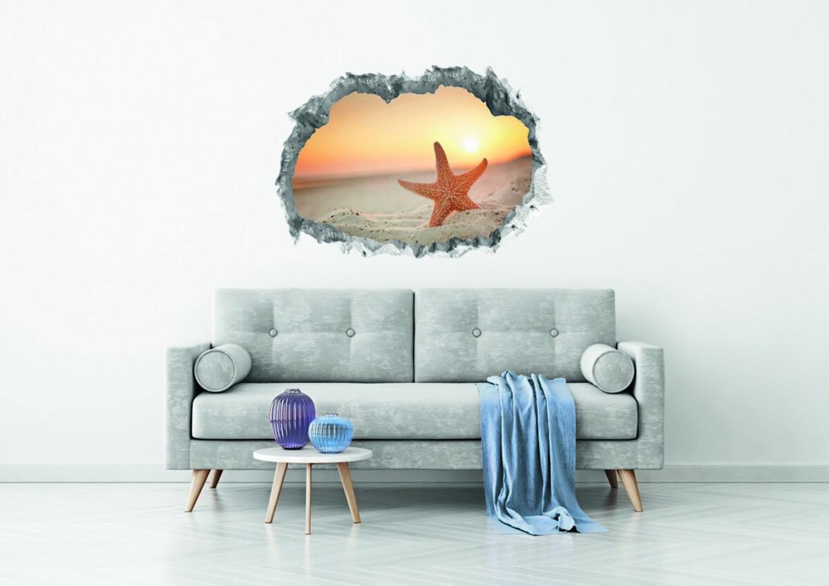 Bild 2 von Easymaxx Wandtattoo 3D - Seestern