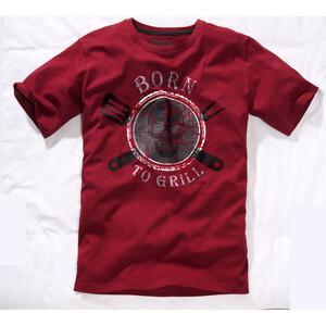 Herren T-Shirt mit Grilldessin