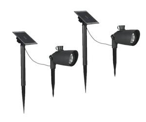 Duracell Solar LED-Solar-Spot - 2er-Set