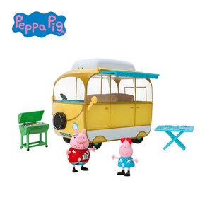 Peppa´s Abenteuer-Wohnmobil mit 2 Spielfiguren und Zubehör, ab 3 Jahren