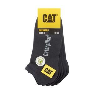 CAT  Damen- oder Herren-Sneaker- oder Kurzschaft-Socken Größe: 35/38 - 43/46, 5er-Pack, je