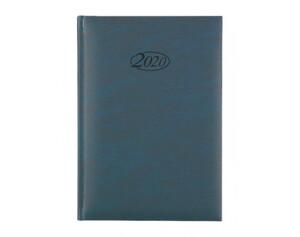 Buchkalender 2020 A5 blau