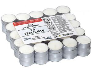 Teelichter 75er weiß