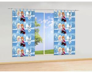 Schlaufen-Dekoschal Die Eiskönigin, ca. 140 x 175 cm