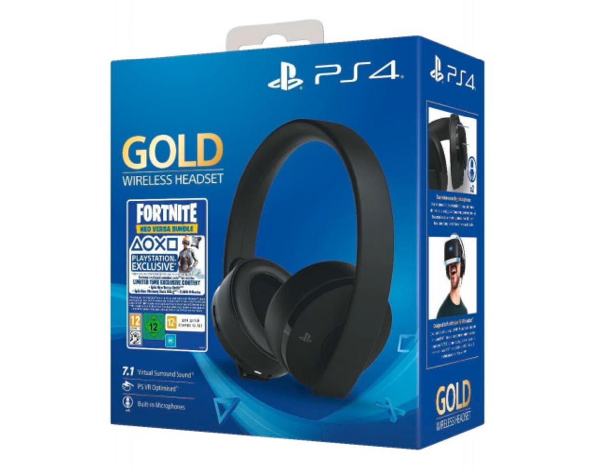 Bild 1 von Sony PlayStation Wireless Headset 27906 Fortnite Neo Versa Bundle