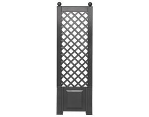 KHW Spalier 37805 mit Erdspießen anthrazit, Breite ca. 43 cm