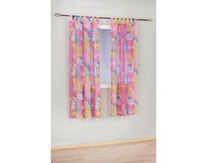 Schlaufen-Dekoschal Barbie, rosa, ca. 140 x 175 cm