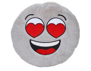Dekokissen Emoji Verliebt Ø 40 cm